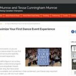 Get the most out of a dance event