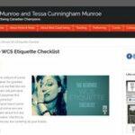 WCS etiquette checklist